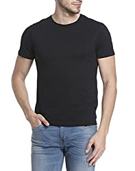 Jack & Jones Mens T-Shirt (5713611159658_12126028_ X-Large_Black)