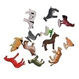 MagiDeal Plastik Tiermodell Figuren Kinder Pädagogische Spielwaren - Bauernhof Tiere
