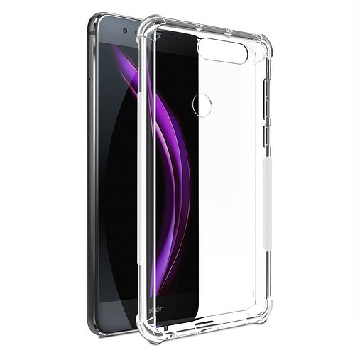 Tabcover reg; LUA-L21/Y3 II Clear Hülle -(2 Pack)[Shock Absorption] with Transparent Hard Plastic Back Plate and Soft TPU Gel Bumper for Huawei LUA-L21/Y3 Y3 II