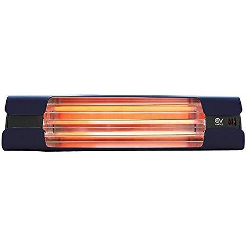 Lampada Riscaldante a Raggi Infrarossi da Installazione VORTICE Thermologika Design Blu 70006