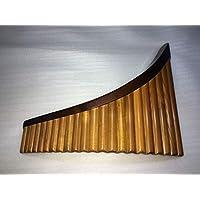 Panpipe (panflauta) 22 tubos de alto G1-G4 de Rumanía