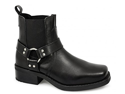Gringos Mens M486A Chelsea Boots cuoio nero Ofertas De Liquidación BcCF3F
