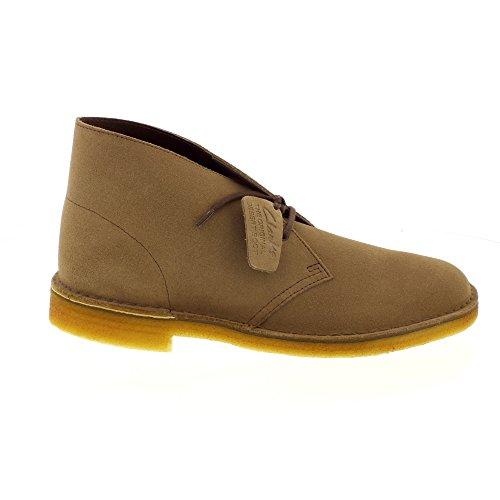 Clarks Originals Scarpe stringate Desert Boot, Uomo Grigio (Wolf)