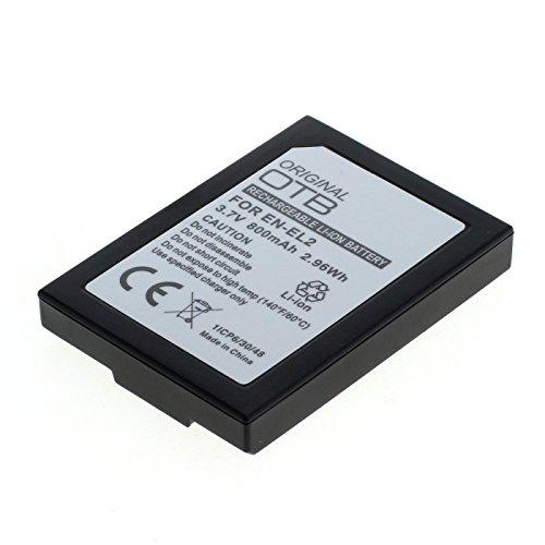OTB Akku für Nikon EN-EL2 Li-Ion Schwarz
