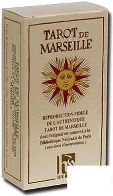 Jeux de 78 cartes : tarot de Marseille
