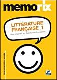 Littérature française. Ediz. italiana: 1