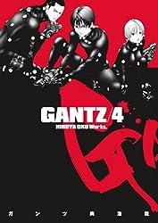 Gantz Volume 4: v. 4 by Hiroya Oku (2011-03-29)