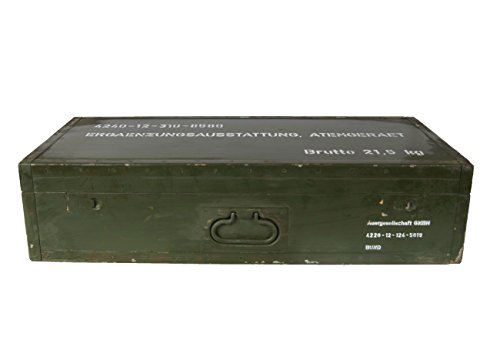 BW Kiste Box Behälter Munitionskiste Metall der U.S Gebrauchtware 2.Wahl