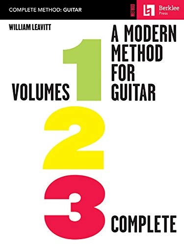 A Modern Method For Guitar - Volumes 1, 2, 3 - Complete Gtr Book: Noten für Gitarre