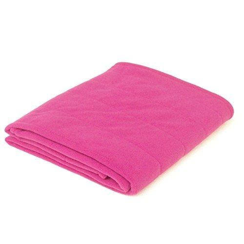 Winter Care Coral Fleece Throw Blanket - Pink (36