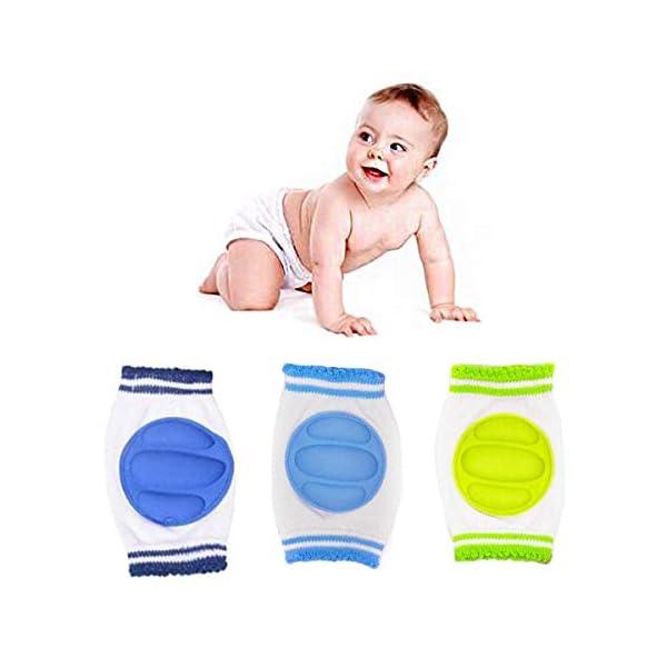 G-Tree 3 del árbol Paquete bebé antideslizante rodilla almohadillas seguridad para niños pequeños que se arrastra… 1