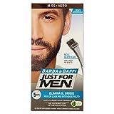 Just for Men Barbe et Moustache Couleur permanente avec Pinceau sans ammoniaque Noir...