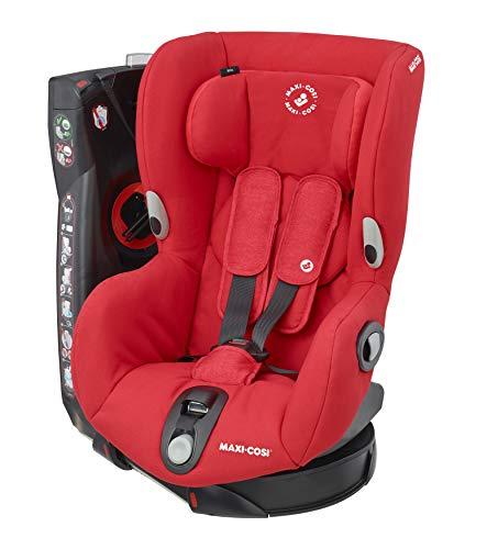 Maxi-Cosi Axiss Kindersitz, Gruppe 1 (9-18 kg), 90 Degree drehbarer Autositz, nomad red