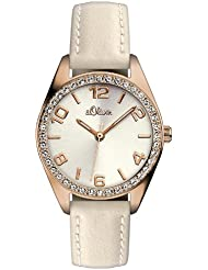 s.Oliver Damen-Armbanduhr Analog Quarz SO-2773-LQ