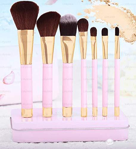 DAMENGXIANG 7 Stück Make-Up-Pinsel Magnet Kosmetische Bürstenführung Foundation Pinsel Anfänger...