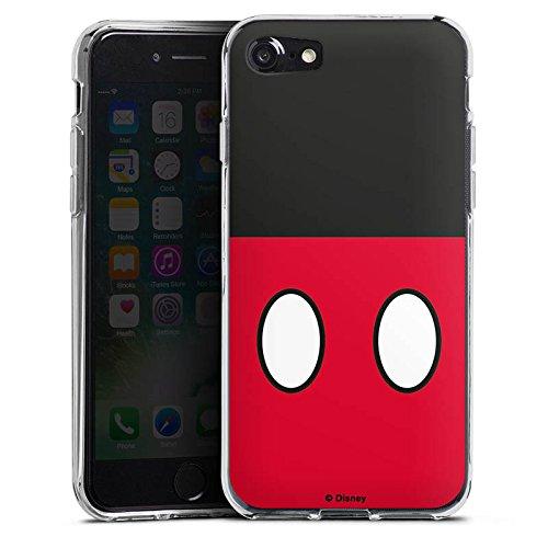 Apple iPhone X Silikon Hülle Case Schutzhülle Disney Mickey Mouse Hosen Geschenke Merchandise Silikon Case transparent