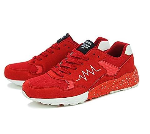 WZG Men 's Breathable Men' s Shoes Slim Shoes Sports