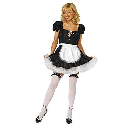 adam & eesa  Damen-Kostüm, Halloween, Sexy Krankenschwester, Polizei, Army Kleid Gr. L, Sexy Maid GW457 (Naughty Krankenschwester Halloween Kostüm)