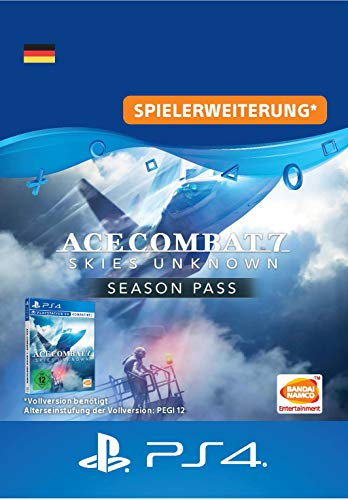 ACE COMBAT 7: SKIES UNKNOWN Season Pass [PS4 Download Code - deutsches Konto]