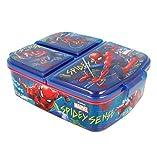 Theonoi Kinder Brotdose / Lunchbox / Sandwichbox wählbar: Avengers - Mickey – Paw aus Kunststoff BPA frei - tolles Geschenk für Kinder (Spiderman)