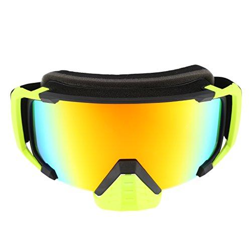 Motorradbrille Motocross Goggles Brillen Radfahren Schutzbrillen Helm Goggles Sport Gafas Dumb Scharz Rahmen Rot Gläser