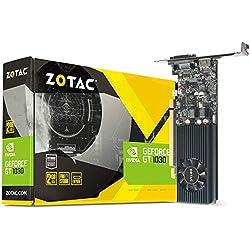 Zotac Nvidia GT 1030 2GB GDDR5 64-Bit DVI-D HDMI Retail Graphic card / Pascal / Firestorm / 384 Cuda core /DirectX 12