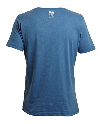 Crosshatch Bedgeburry Herren T-Shirt Blau