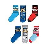 6er Pack Jungen Socken Super Mario Paw Patrol (27 - 30, Paw Patrol)