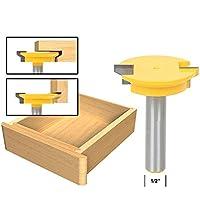 godbless Router puntas 1/2x 50.8mm cajones verleim Fresa Fresadora Herramientas para graviermaschine trimmmasc Hine