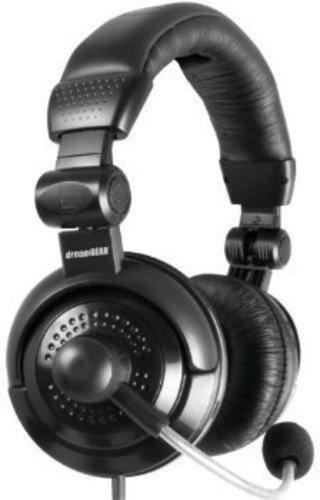 DREAMGEAR DGPS3–3855Headset–Headset (PS3, verkabelt, PC/Gaming, binaural, Bügel, Schwarz) (Ps3 Dreamgear Elite Headset)