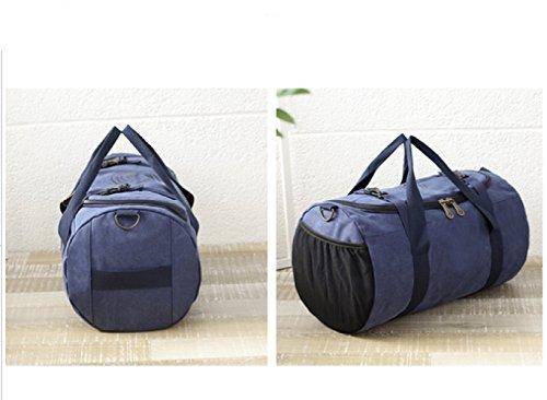 LAIDAYE Fitness Sporttasche Handschulter Diagonale Taschen Sporttasche Fitnesstasche Große Kapazität Handtasche 3