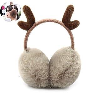 Winter Warm Earmuff Ultra Soft Plüsch-Ohrenschützer Ohr-Wärmer für Frauen Mädchen – Khaki