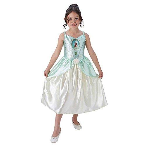 Rubie's Disney Kinder Kostüm Prinzessin Tiana Karneval Gr.7 bis 8 J. (Prinzessin Tiana Kind Kostüm)