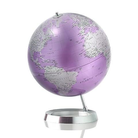 Contemporary Desk Globe Full Circle Vision, Amethyst