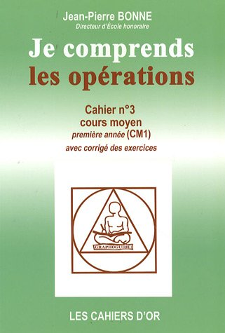 Je comprends les opérations CM1