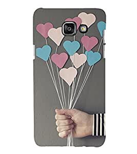 Print Masti Designer Back Case Cover for Samsung On7 New Edition For 2017 :: Samsung Galaxy On 7 (2017) (Roses Pattels Heart Pink Love )