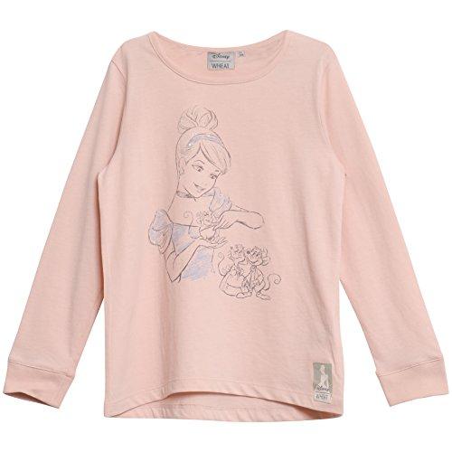 Wheat Mädchen Langarmshirt Cinderella and Bum Disney Rosa (Powder 2400), 92 (Herstellergrö Preisvergleich