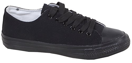 TaschentrendSport , Low-top femme Noir - full black