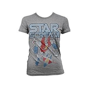 Transformers - T-shirt - Manches Courtes - Femme -  gris - Large