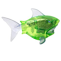 Swimways Battle Reef Shark Battery Operated Pool Toy For Kids Green