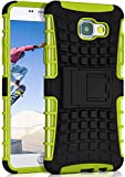 ONEFLOW® Outdoor Back-Cover aus Silikon + Kunststoff [Double-Layer] passend für Samsung Galaxy A5 (2016) | Extrem widerstands