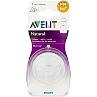 Philips Avent - Lot de 2 tétines Natural