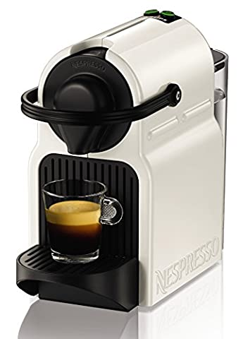 Krups Nespresso XN1001 Inissia Kaffeekapselmaschine (19 bar, inklusive Welcome Pack mit 16 Kapseln) weiß