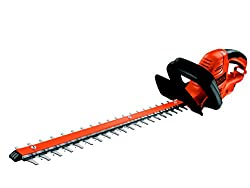 Black+Decker Elektrische Heckenschere GT5055 mit Kabelzugentlastung und Direktanschluss des Verlängerungskabels für maximalen Komfort - 22mm Schnittstärke - 500W - 55cm Sägeblatt-Länge - 2,8kg