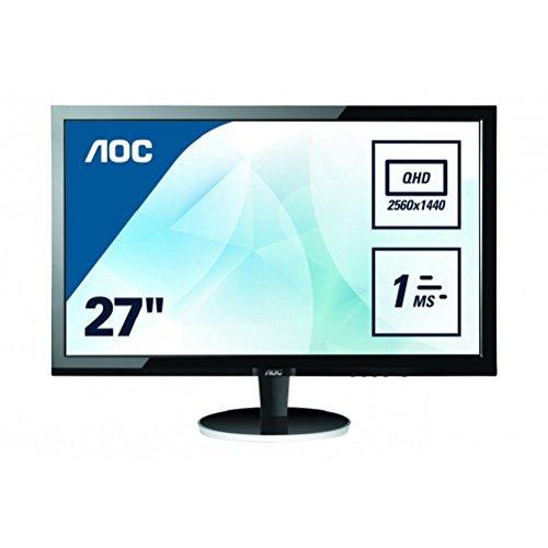 Best Saving for AOC 27 inch 1 ms Response Time LED Monitor, Display Port, HDMI, DVI, VGA, Vesa Q2778VQE Discount