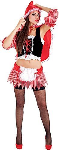 Carnevale Venizano CAV5109-L - Erwachsenenkostüm CAPPUCCETTO Rosso - Größe: L