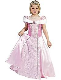 Prinzessin Phoebe Kostüm für Mädchen - Märchenprinzessin Königin Kleid in Rosa