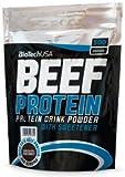 Biotech USA Beef Protein, 500g Beutel , Zimt-Vanille