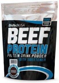 Biotech USA Beef Protein, 500g Beutel , Schoko-Kokos (Beef Protein)