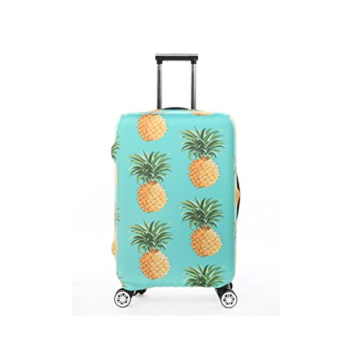 3e4d46d663 Fvstar Pineapple Luggage Cover Suitcase Cover Protector Travel Baggage  Covers Carry On Protective Cover